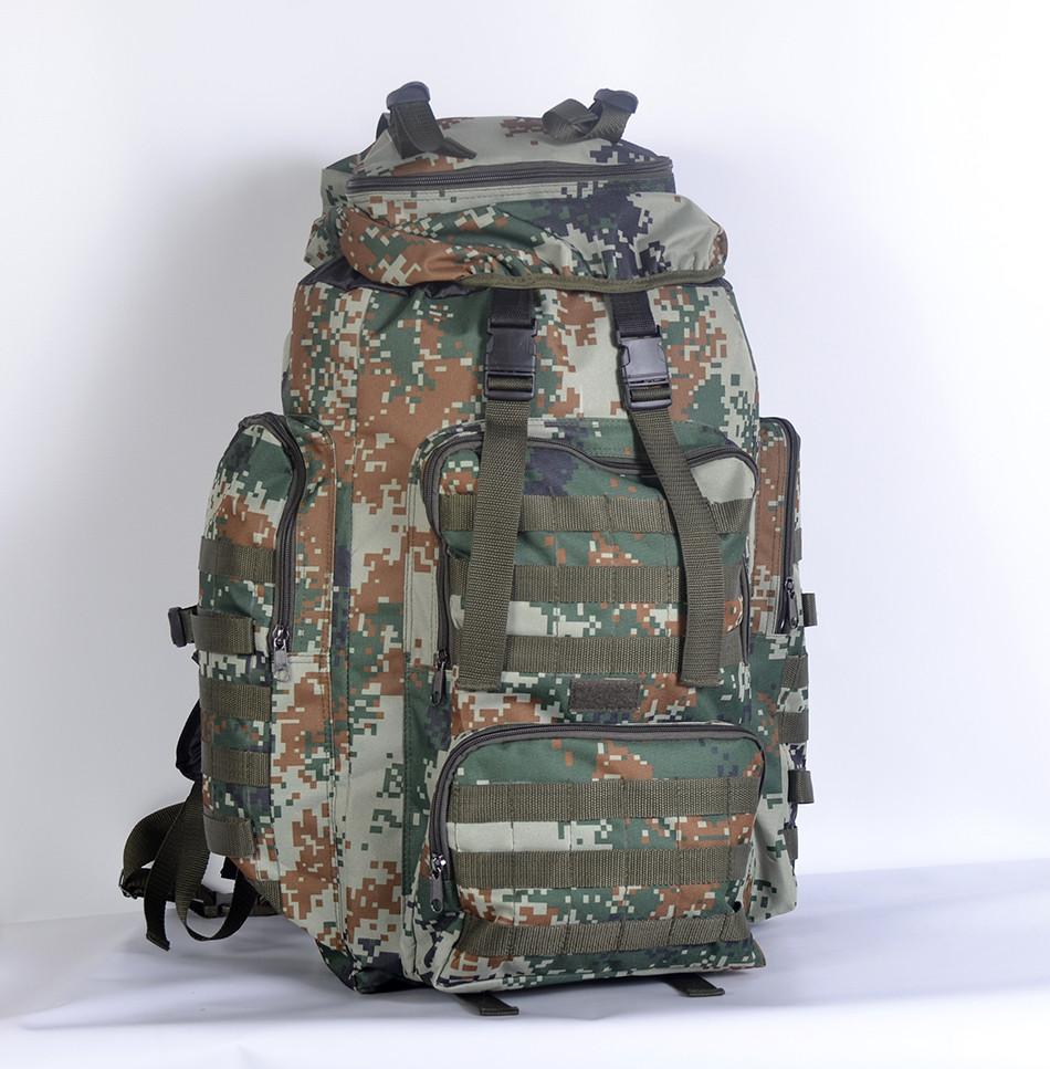 Тактичний камуфльований  рюкзак  на  75 л (Піксель)