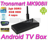 MK908-II покол 2013г Android TV 4.2 Quad Core HDMI WIFI 2G DDR3 8GB+WI-FI ант+настройка+обнов i-smart