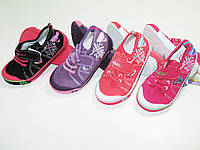 Текстильная обувь для девочек, размер 27, арт. A 9949