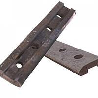 Накладки рельсовые Р-33  ГОСТ 8141-56 (скрепление рельсовое для железных дорог узкой колеи)