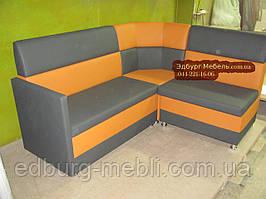 """Кухонный уголок  """"Шик"""" с подлокотником + спальное место 1850х1500мм"""