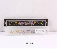 Губная гармошка 9824J (360шт / 2) в короб 18 * 5, 5 см
