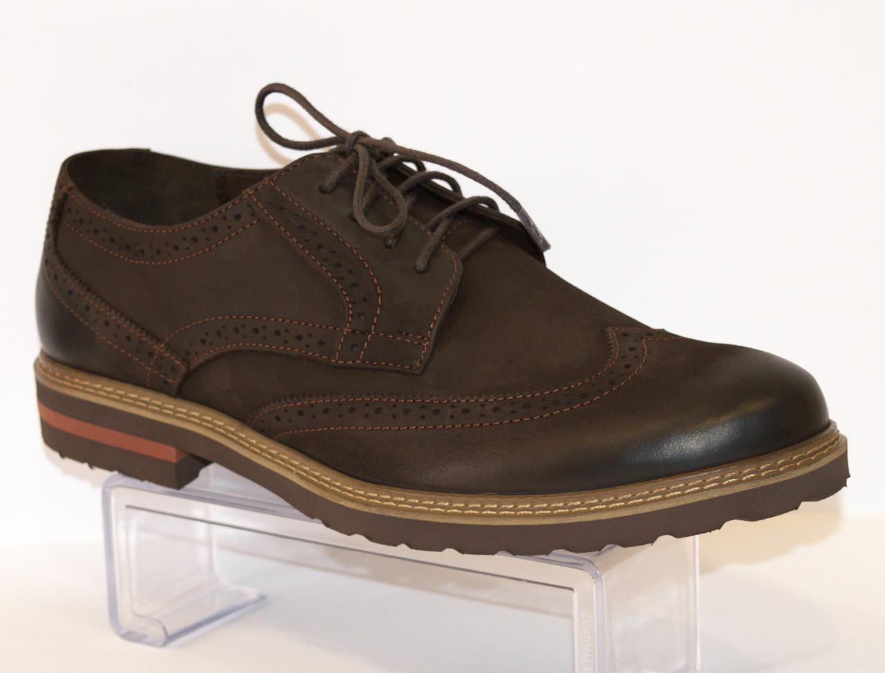 Туфли мужские коричневые Faber 113311