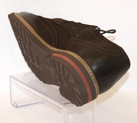 Туфли мужские коричневые Faber 113311, фото 2