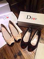 Женские балетки Dior