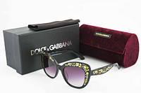 Солнцезащитные очки брендовые женские Dolce&Gabbana DG4282 503/T3 3N, фото 1