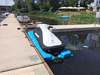 Док для лодки и скутера 4х1,5 м