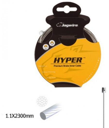 Трос для переключателя JAGWIRE 73SG2300 шлифов. гальванизир. 1.1х2300мм - Sram/Shimano