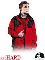 Куртка рабочая утепленная красная Польша (спецодежда)  LH-HOTFER CB