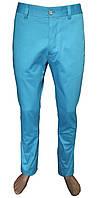 Брюки мужские голубые №119  416/16-4427