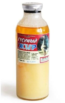Гусиный жир  для иммунитета,при простудных заболеваниях (250мл.,Россия)
