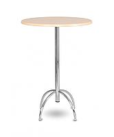 Стол для кафе Виктор 1100 хром