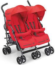 Прогулочная коляска-трость для двойни CAM Twin Flip Красная 850 - 24