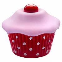 Внешний вибромассажер в виде капкейка Shiri Zinn Cupcake Vibrator, фото 1