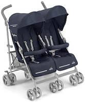 Прогулочная коляска-трость для двойни CAM Twin Flip Синяя 850 - 27