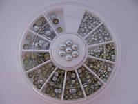 Металлостразы для ногтей 2мм, 3мм, 4мм