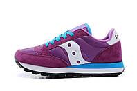 Кроссовки женские Saucony Jazz (саукони джаз, кроссовки для бега) фиолетовые