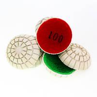 Комплект сферических шлифовальных кругов d 50 mm.