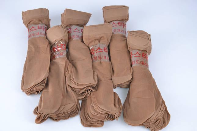 Носки капроновые Бежевый (YL5208/BG) | 10 пар, фото 2