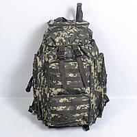 Тактичний камуфльований  рюкзак  на  75 л (Піксель  ліс) , фото 1