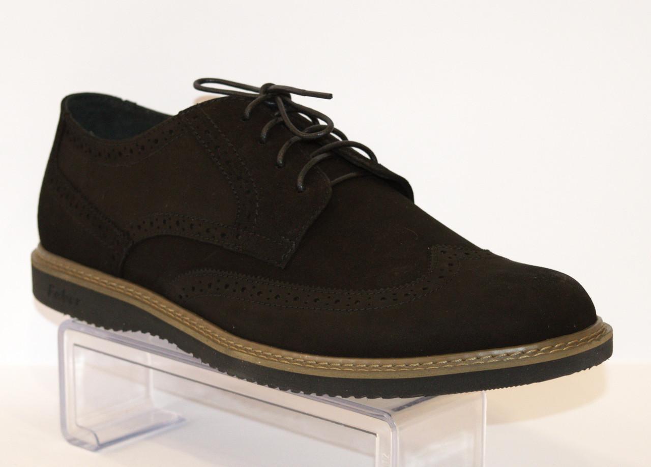 Туфли мужские черные Faber 127205