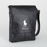 "Сумка мужская с логотипом ""Polo"" А4"