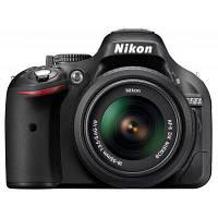 Цифровой фотоаппарат Nikon D5200 + 18-55mm VR II Black KIT (VBA350K007), фото 1
