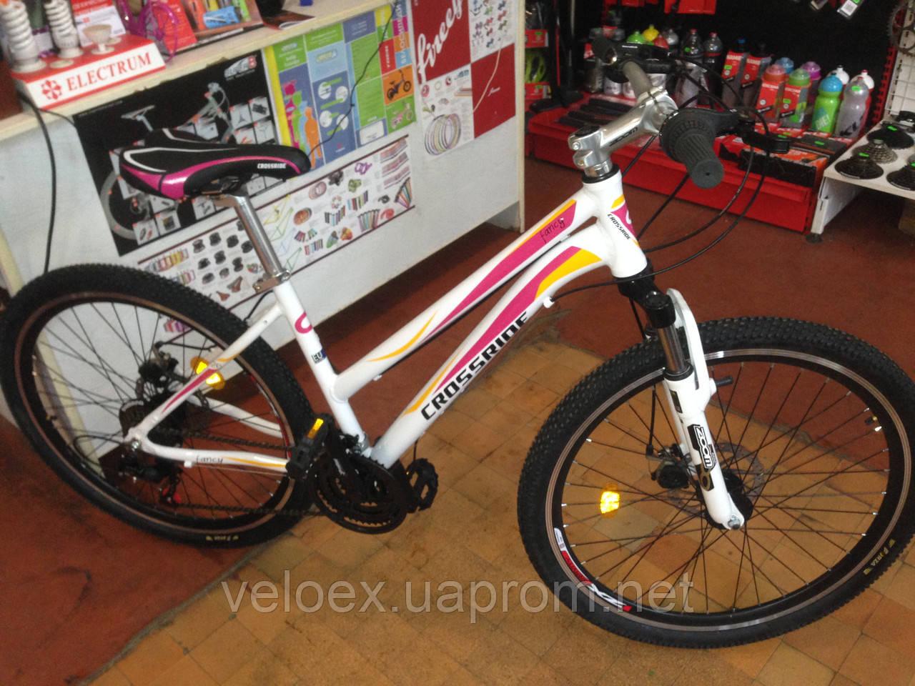 """Велосипед горный Crossride Fancy 26"""""""