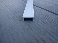 Швеллер П-образный анодированный 5*12*5*1,5 мм