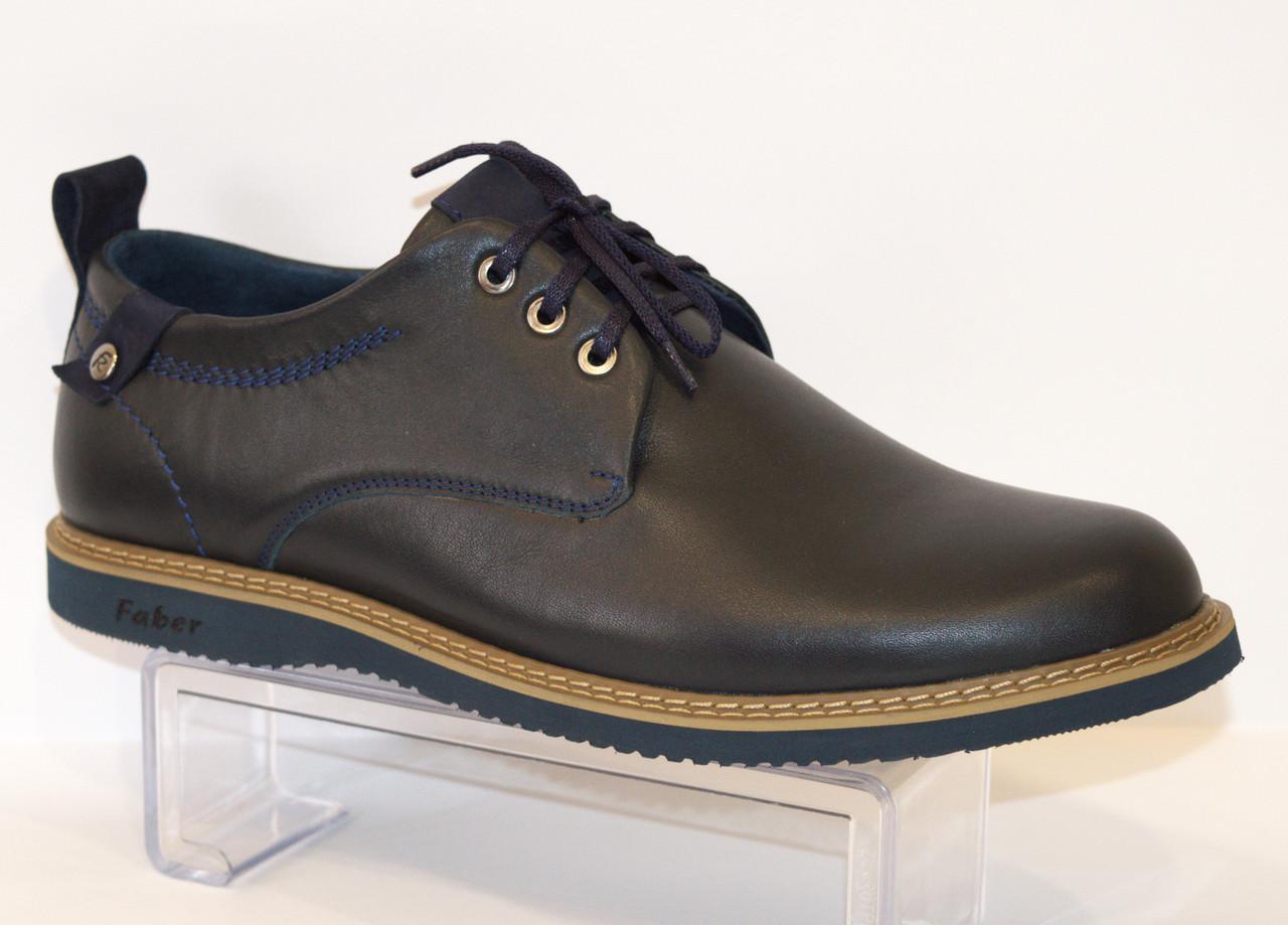 Туфли мужские синие Faber 127302