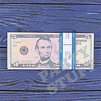 Деньги сувенирные  5 долларов