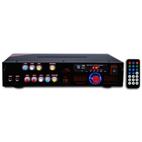 Усилитель трансляционный двухканальный KA200(100V+4Om)