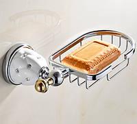 Мыльница для ванной Soap Holder Crystal Decor