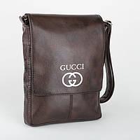 """Сумка мужская с логотипом """"Gucci"""" А4"""