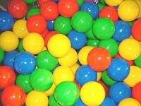 Шарики (мячики) для сухого бассейна мягкие, d=8 см