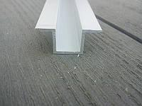 Швеллер отбортированный алюминиевый анод, фото 1