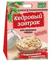 Кедровый завтрак для здоровья сердца с боярышником и амарантом