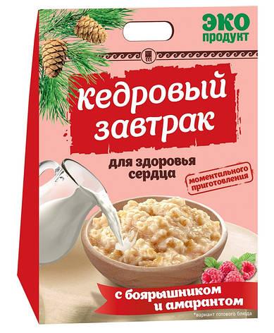 Кедровий сніданок для здоров'я серця з глодом і амарантом, фото 2