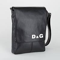 """Сумка мужская с логотипом """"D&G"""" А4"""