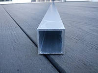 Труба квадратная анодированная 20*20*1 мм