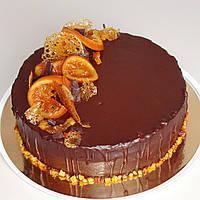 """Веганский торт """"Шоколадно-апельсиновое настроение"""""""