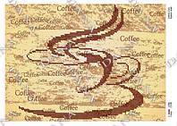 """Схема для частичной вышивки бисером """"Аромат кофе"""""""