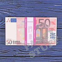 Деньги сувенирные 50 евро , фото 1