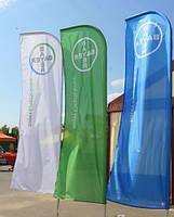 Флаги мобильные, стационарные
