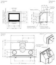 Каминная топка SPARTHERM Linear Kassette L 800, фото 3