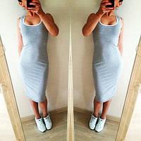 Платье женское Мия светло серое , женские платья
