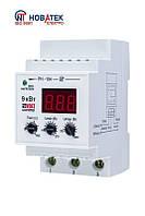 Мощное однофазное реле напряжения Volt Control РН-104, 40А. 8,8кВт