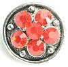 СБЧ1600-5-5 Кнопка чанка для браслета Noosa цветок2