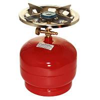 Газовый баллон «Пикник-Italy» «RUDYY Rk-2» 5л 2,5 кВт