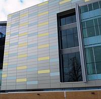 Навесной панельный фасад